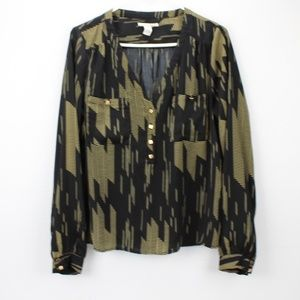 Forever 21 Size Large Top Long Sleeves